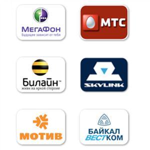 Операторы сотовой связи Глядянского
